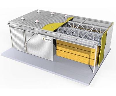 Конструкция сушильных камер KATRES