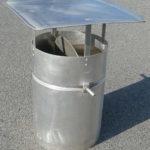 Вентиляционная труба Ø 350 мм, дл. 600 мм