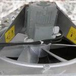 Вентилятор VE 600 mm, с двигателем 1,5 кВт