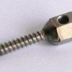 Штырь стальной, длина 30 мм